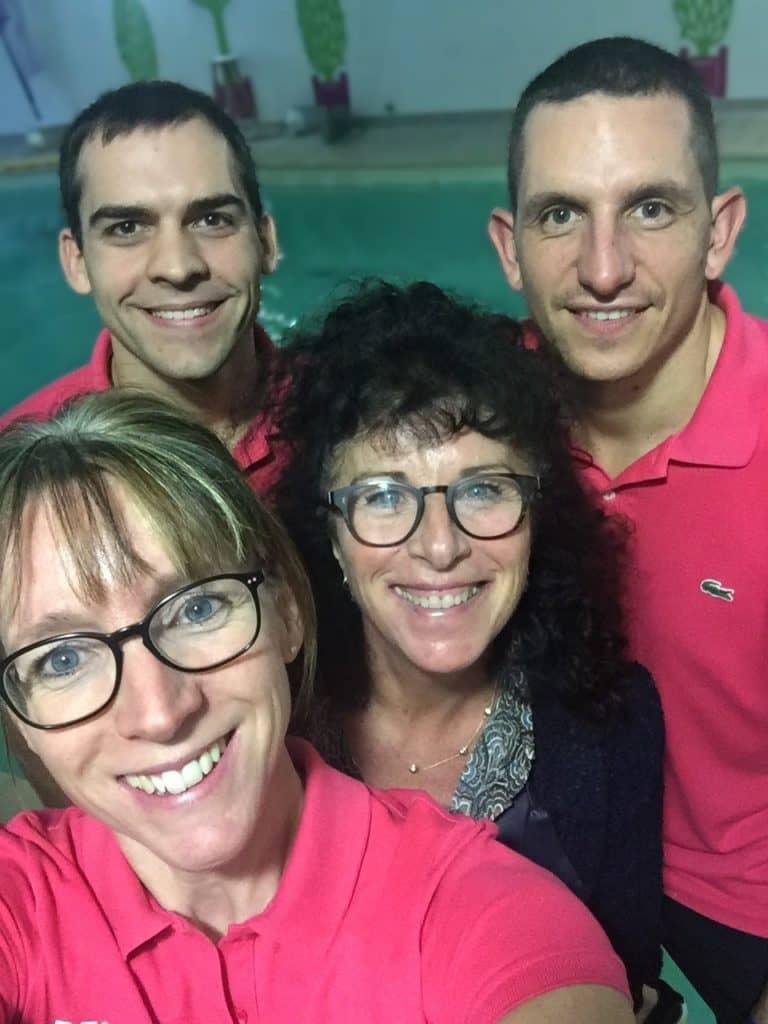 L'équipe de Gulf Stream Saumur en selfie