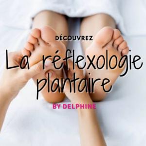 La réglexologie plantaire par Delphine du club Gulfstream de Saumur