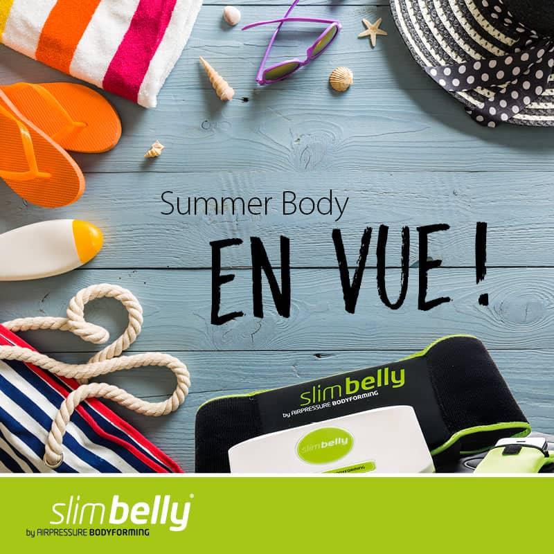 Le Summer Body en vue avec Slimbelly